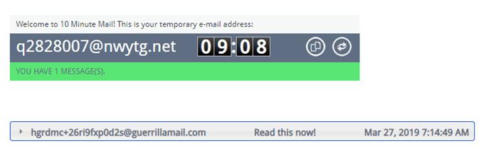 أفضل 5 حسابات البريد الإلكتروني المتاح