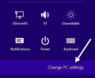 change pc settngs